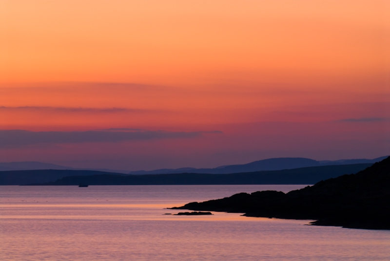 Sunset, Isle of Bute