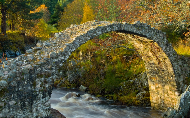 Carrbridge packhorse bridge, Cairngorms