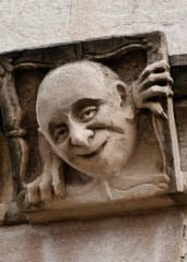 Lincoln College gargoyle, Oxford