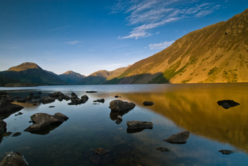 Wastwater, evening light