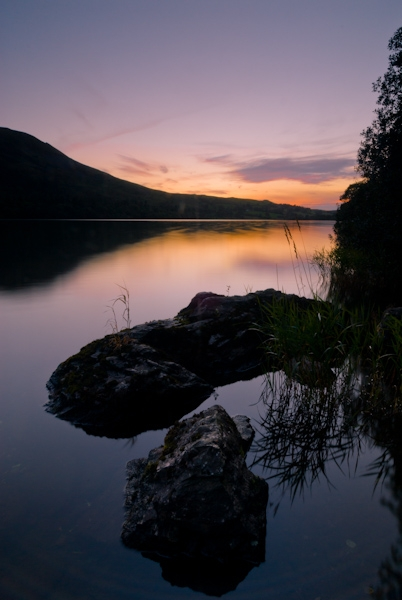 Loweswater sunset, Lake District