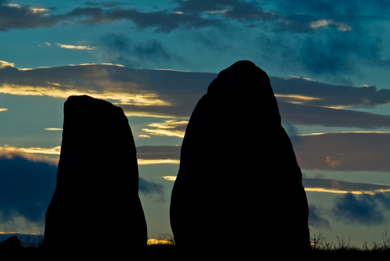 Sunset at Castlerigg Stone Circle, Lake District