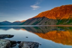 Wast Water reflections, Lake District National Park