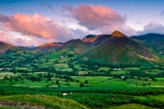 Newlands Valley from Catbells, Lake District