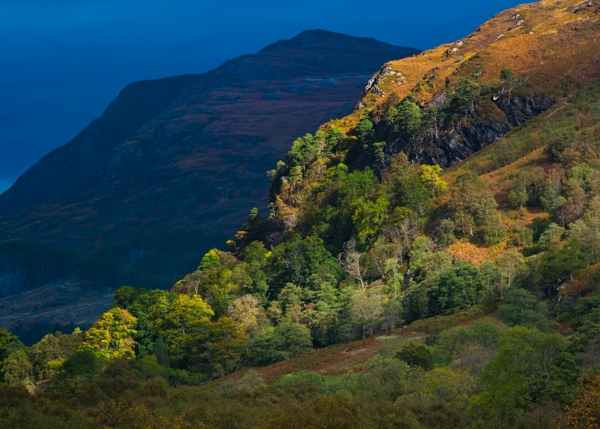 Wester Ross mountain light