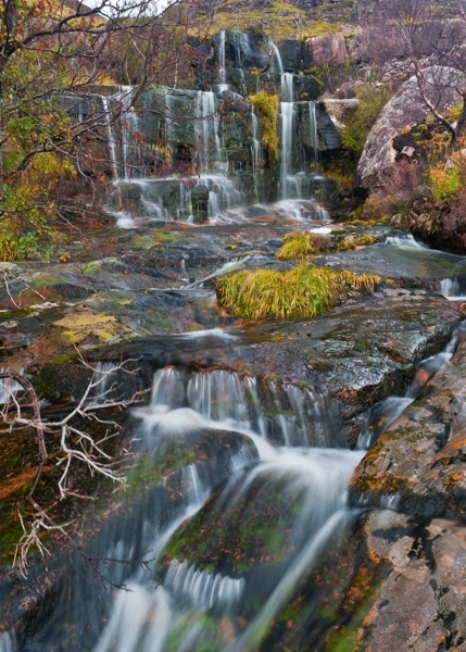 Torridon waterfall, Scotland