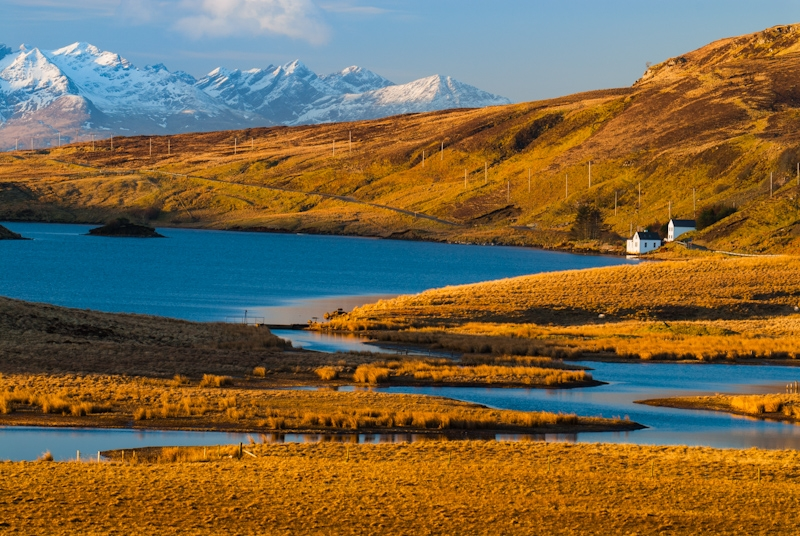 Loch Fada and the Black Cuillins, Isle of Skye