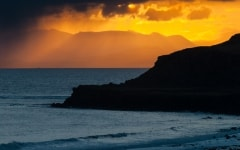 Sunrise at Staffin, Isle of  Skye