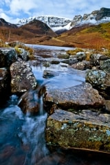 Trotternish Ridge stream, Isle of Skye