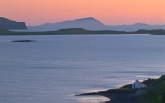 Sunset at Stein, Waternish Peninsula, Isle of Skye