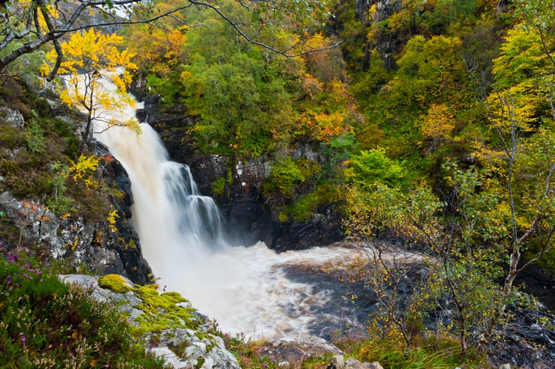 Falls of Kirkaig, Lochinver, Sutherland