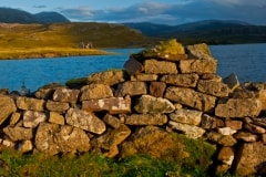 Stone wall, Ardvreck