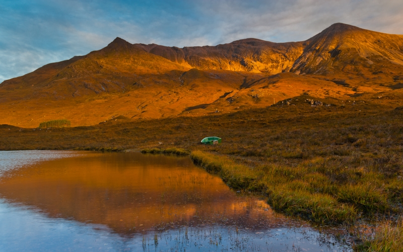 Glen Torridon sunrise