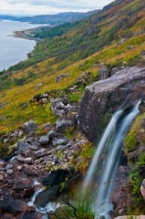 Loch Torridon waterfall