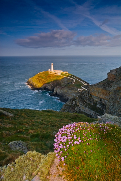 South Stack Lighthouse, Holyhead, Anglesey, Wales