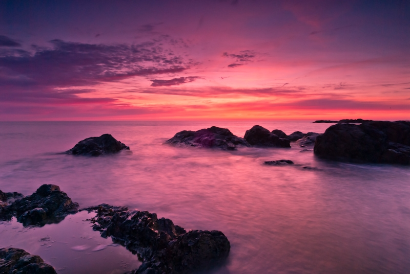 Isle of Anglesey, Wales, Sunset