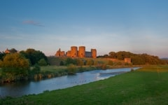 Rhuddlan Castle, north Wales