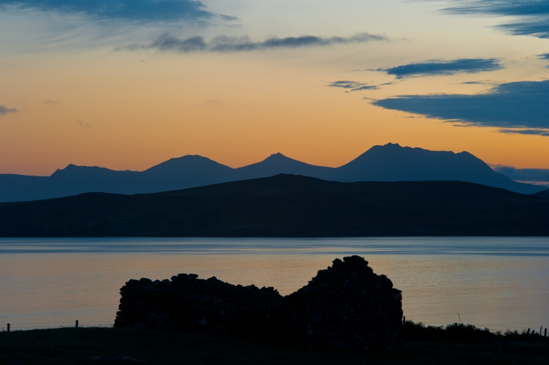 Sunrise at Laide, Wester Ross