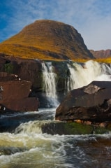 Pass of the Cattle waterfall, Wester Ross