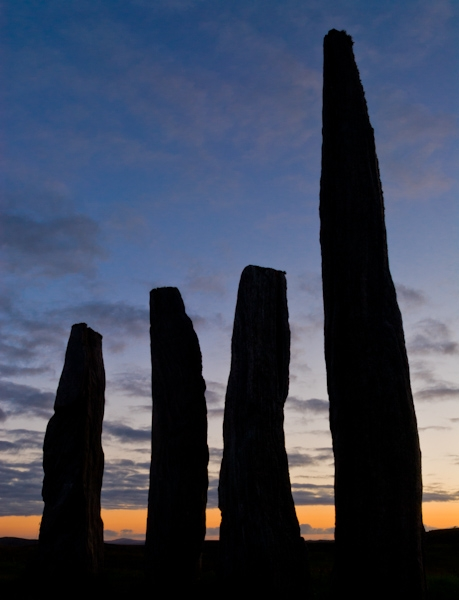 Callanish Stone Circle, Evening Light