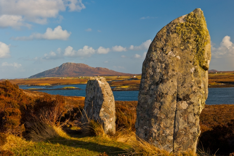 Pobull Fhinn Stone Circle, North Uist