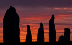 Callanish Stone Circle at Sunrise, Isle of Lewis