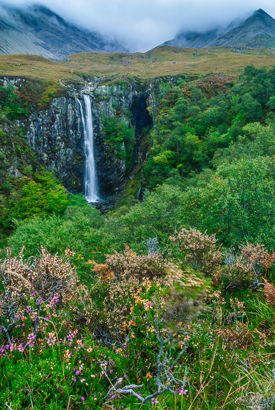 Eas Mor waterfall
